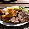 Roast beef,Londres, United Kingdom