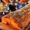 Cedar Plank Salmon,Nanaimo, Canada