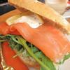 <p>Sándwich de salmón</p>,Svolvaer, Norway