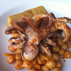 Grilled Octopus with Chickpea Panisse and Preserved Lemon,Seattle, United States