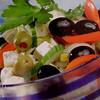 Horiatiki salata,Pafos, Cyprus