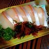 Buri sashimi,Toyama, Japan