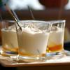 Yogurt griego con miel,Heraclión, Greece