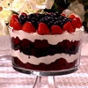Strawberry chocolate trifle,Jacksonville, United States