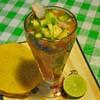 Coctel de camarón,Playa del Carmen, Mexico