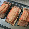 Cedar-Plank Salmon,Richmond, Canada
