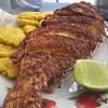 Pescado frito,Itapema, Brazil