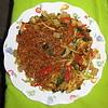 Bakmi goreng,Medan, Sumatra Septentrional, Indonesia, Indonesia