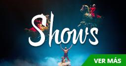 Tours de shows y espectáculos