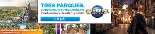 Reserva tus boletos para Universal