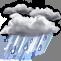 Lluvia ligera en momentos